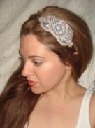 Bridal headband - www.etsy.com/shop/Luciabella