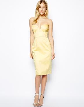 Asos midi strapless dress - asos.com