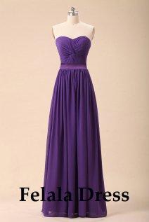 Purple bridesmaid dress - www.etsy.com/shop/FelalaDress