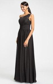 Black bridesmaid dress - www.etsy.com/shop/TheLovelyDress