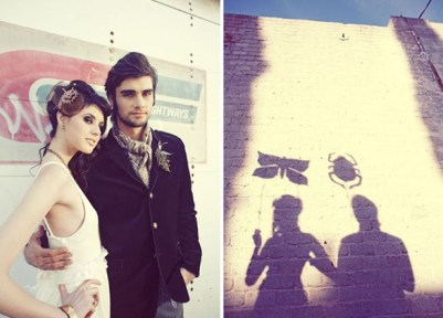 Steampunk wedding inspiration {via foreverlovelydesign.blogspot.com}