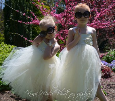 Ivory flower girl tutu dress - www.etsy.com/shop/KonaMaliCreations