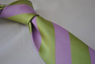 Lilac and green men's necktie - www.etsy.com/shop/FrederickThomas