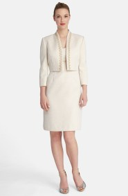 Tahari mother-of-the-bride dress and jacket, from nordstrom.com