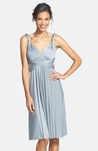 Dessy Collection silver bridesmaid dress  nordstrom.com ...