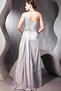 Silver gown - www.etsy.com/shop/ElliotClaireDresses