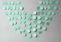 Mint garland - www.etsy.com/shop/TransparentEsDecor