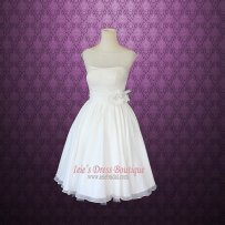 1950s-style reception dress/short wedding dress - www.etsy.com/shop/ieie