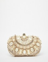ALDO Box Clutch With Pearl Bead Embellishment, from asos.com
