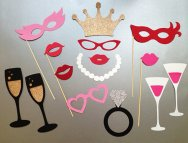 Bachelorette party photo props - www.etsy.com/shop/PureSimpleThings