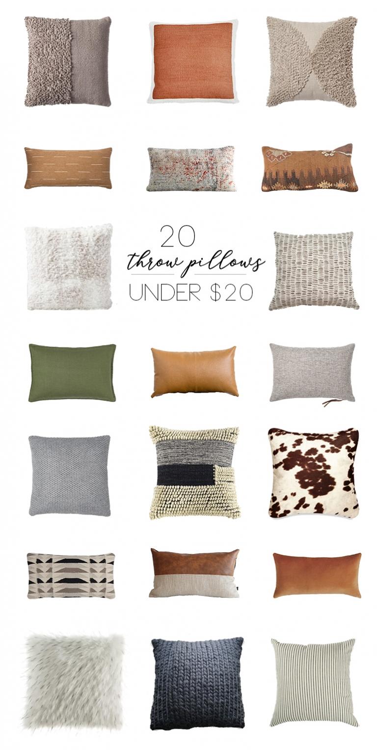 20 throw pillows under 20 the