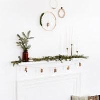 3 DIY Minimal Wreaths
