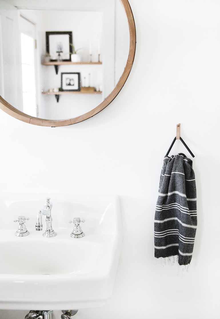 DIY Triangle Towel Holder  The Merrythought
