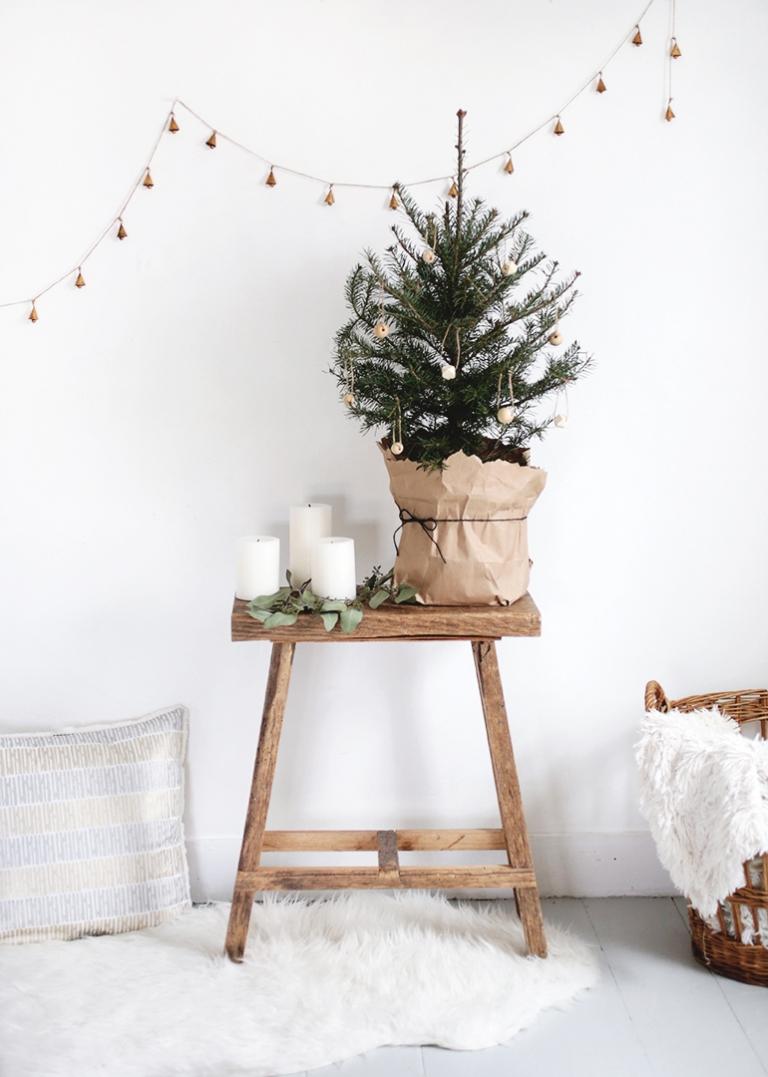 small christmas tree simple