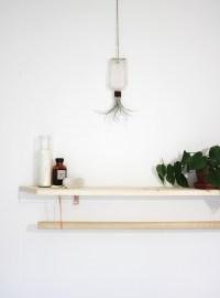 DIY Towel Rack & Shelf - The Merrythought