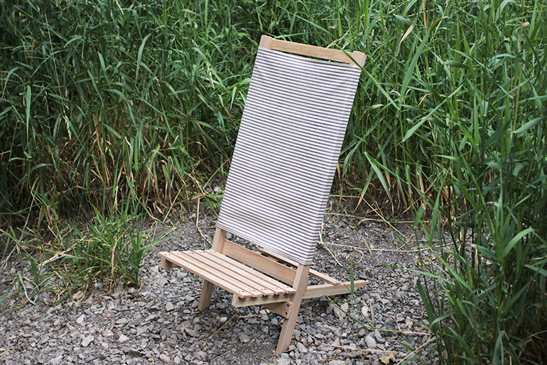 wood camp chair childs bean bag diy wooden beach the merrythought themerrythought