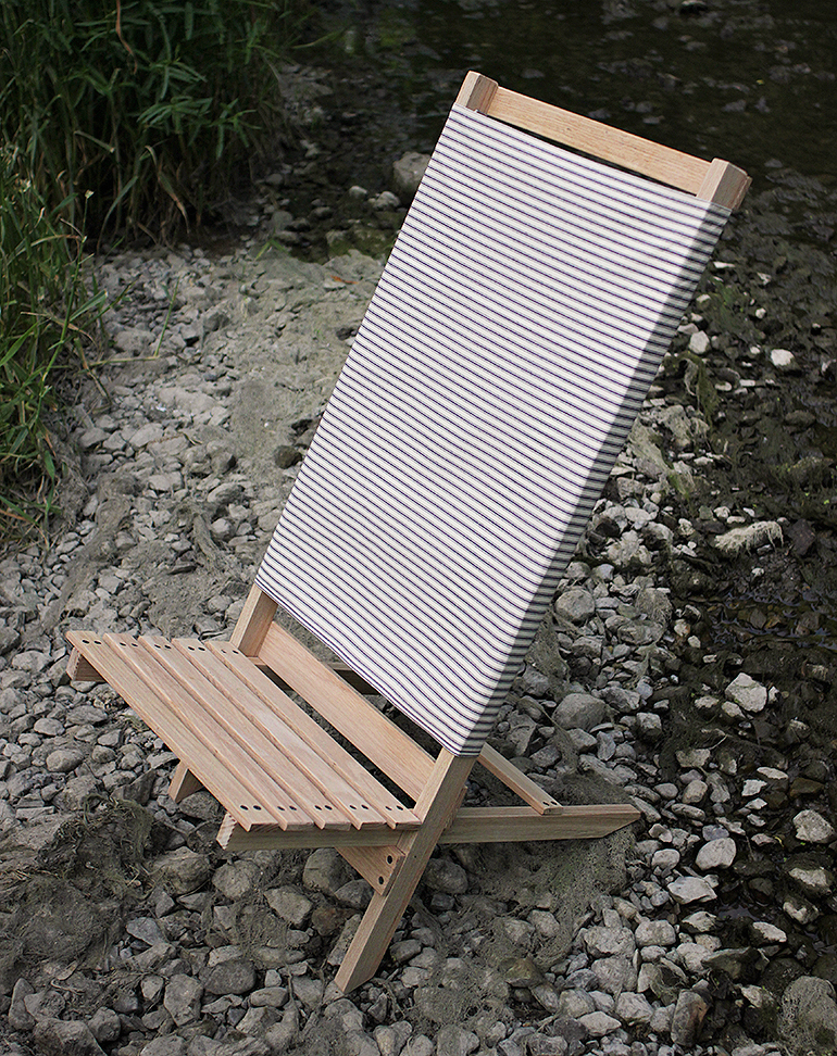wood camp chair 1950 s metal patio chairs diy wooden beach the merrythought themerrythought