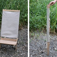 Wood Camp Chair Hanging Price Diy Wooden Beach The Merrythought Themerrythought