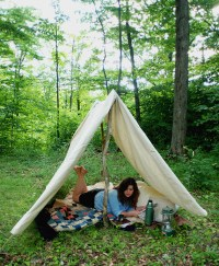 DIY Canvas Tent - The Merrythought