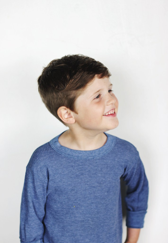 how to: modern boy's haircut - the merrythought