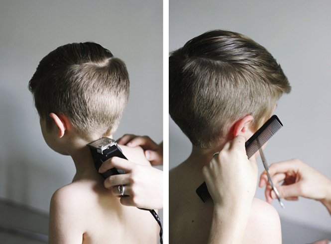How To Cut Boys Hair At Home In Under 15 Minutes So Easy Video