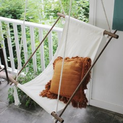 Diy Bedroom Hammock Chair Dining Back Covers Christmas Hanging Lounge The Merrythought Themerrythought