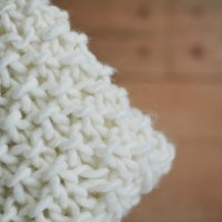 Easy Chunky Knit Baby Blanket
