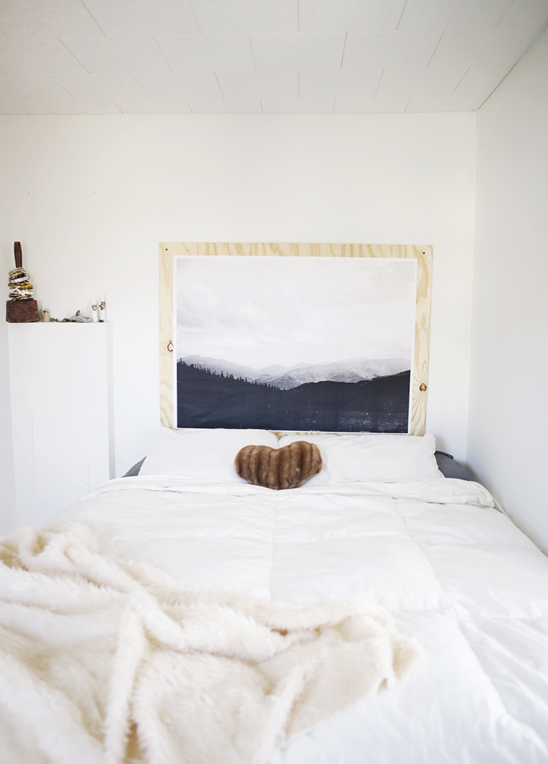 Minimal Bedroom  The Merrythought
