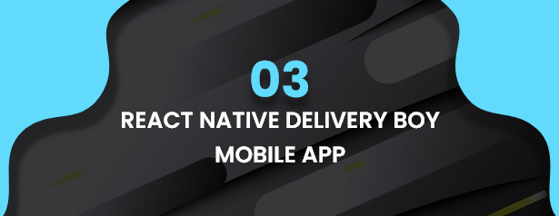 React Native Delivery Solution with Advance Website and CMS - 41