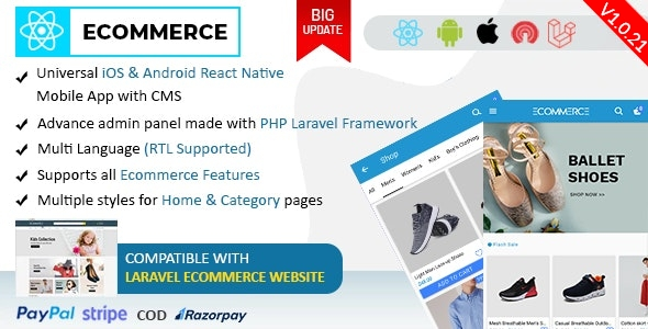 Laravel Ecommerce - Universal Ecommerce/Store Full Website with Themes and Advanced CMS/Admin Panel - 8