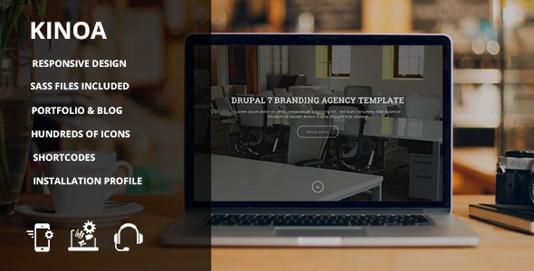 Review : Kinoa - Drupal 7 responsive theme - Themes.fm   Reviews. Downloads. Your #1 Source For top Rated Themes & Templates from around the web