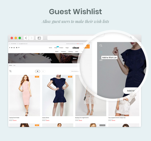Claue - Clean, Minimal Magento 2 and 1 Theme - 19