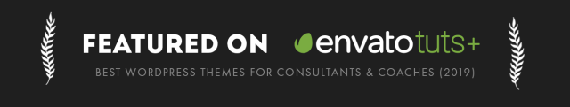 Efor Coaching theme theme is featured on envato tuts plus as one of the best wordpress theme for coaches and consultants 2019
