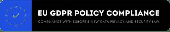 EU gdpr policy compliance wordpress theme