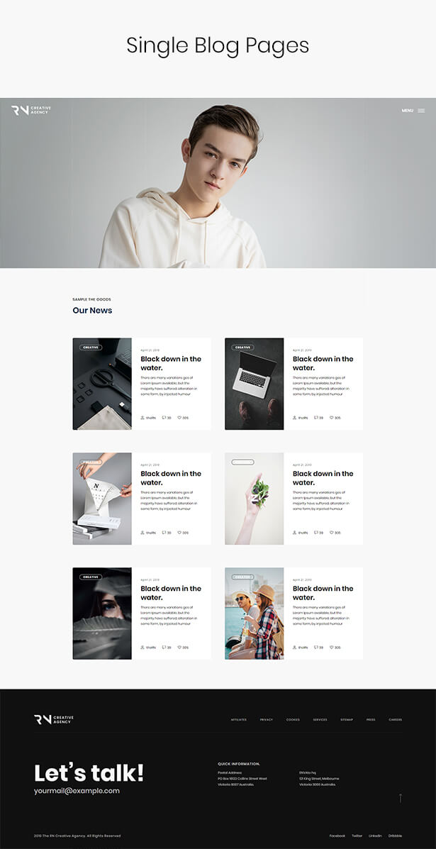 TheRN - Creative Agency React Gatsby Template - 6