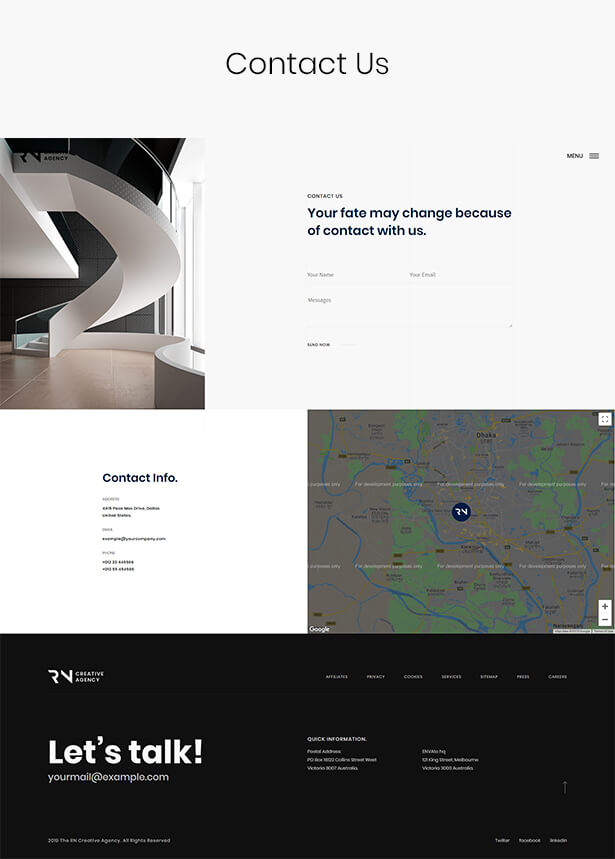 TheRN - Creative Agency React Gatsby Template - 8