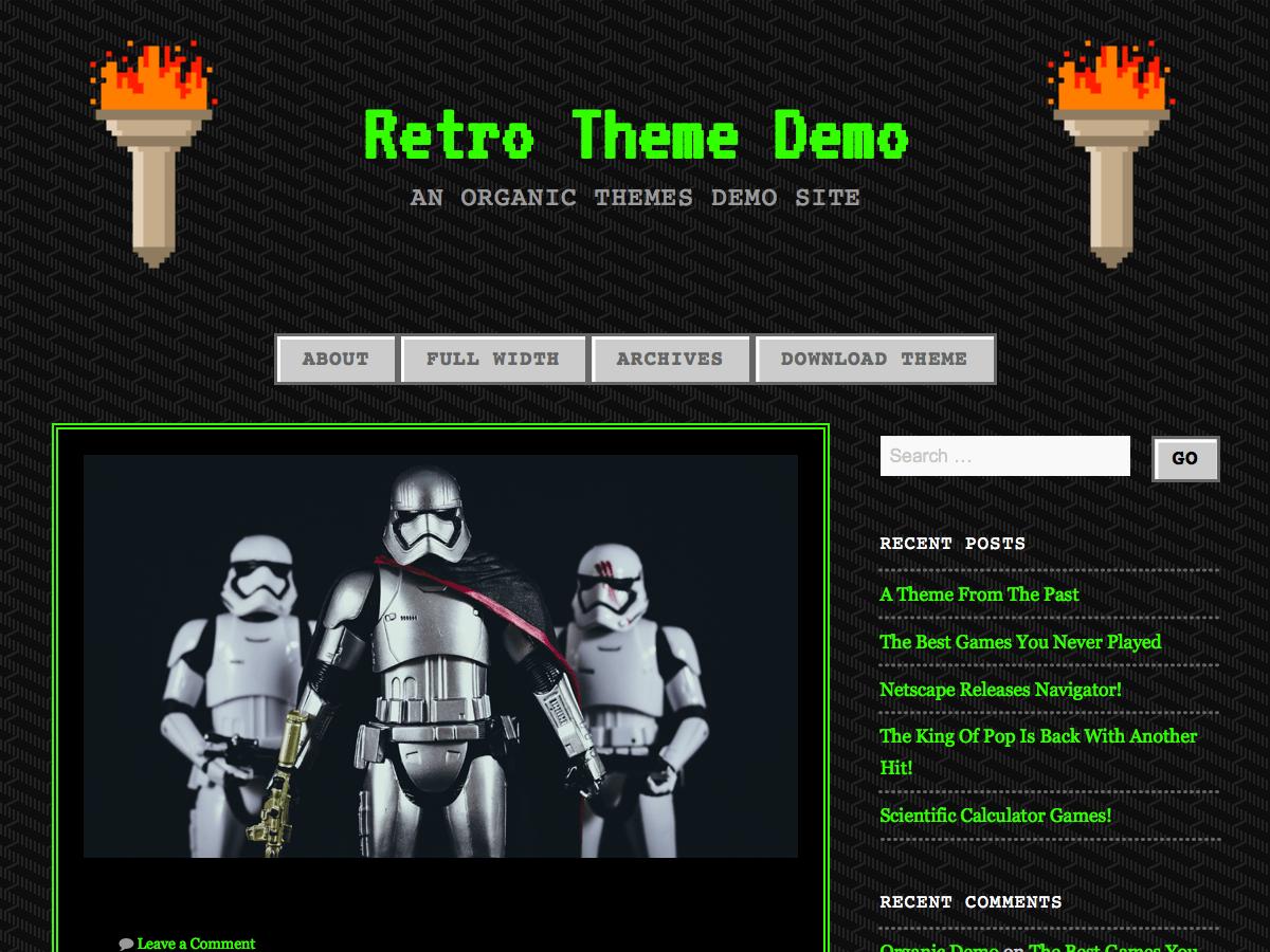 retro themes