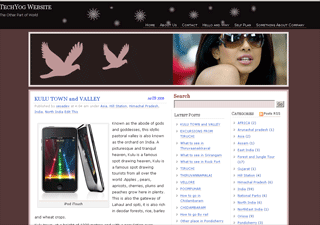Aapna wordpress theme