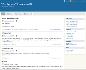 abcOK free wordpress theme