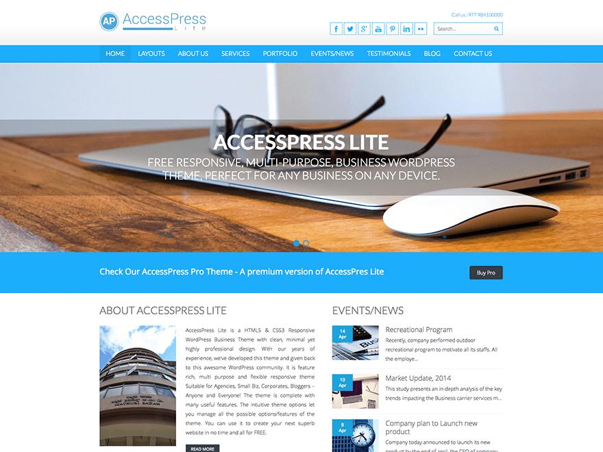 Accesspress Lite | WordPress.org