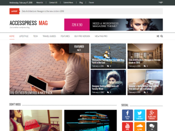 AccessPress Mag child theme