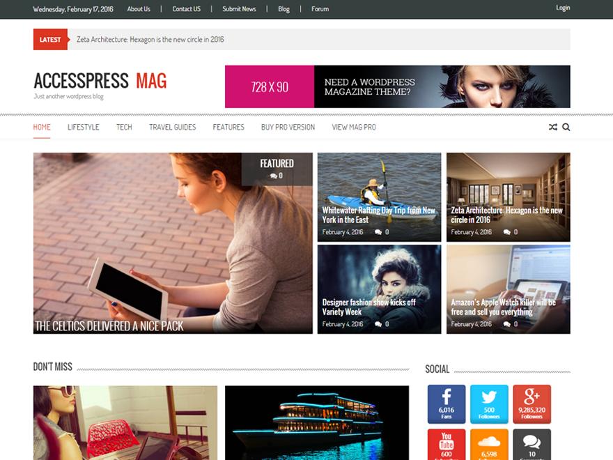 Accesspress Mag | WordPress.org