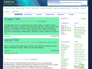 Adsticle theme wordpress gratuit
