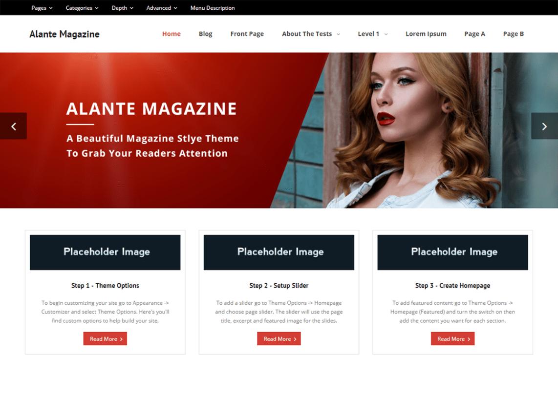 Alante Magazine