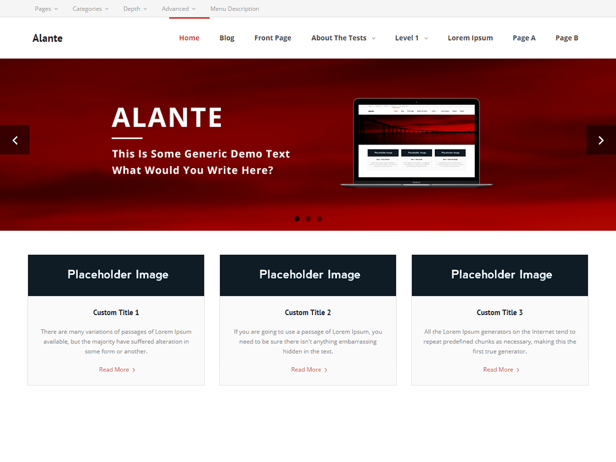 alante wordpress org rh wordpress org Operators Manual User Guide
