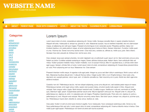 All Orange free wordpress theme