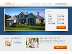 Allure Real Estate Theme for Placester free wordpress theme