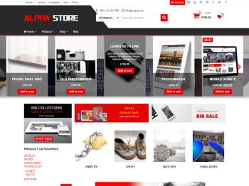 Alpha Store child theme
