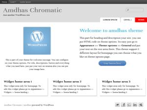 Amdhas free wordpress theme
