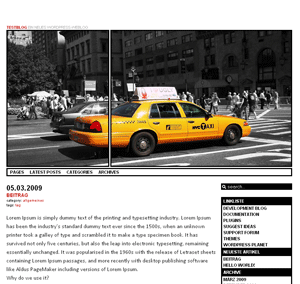 an ordinary theme free wordpress theme